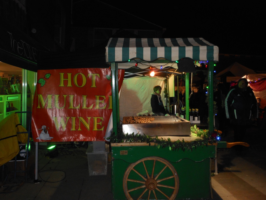 Hot mulled wine, Totnes